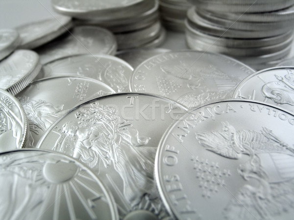 Silver Eagle $1 U.S. Bullion Coins Stock photo © eyeidea