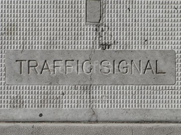 Traffic Signal Control Box Stock photo © eyeidea