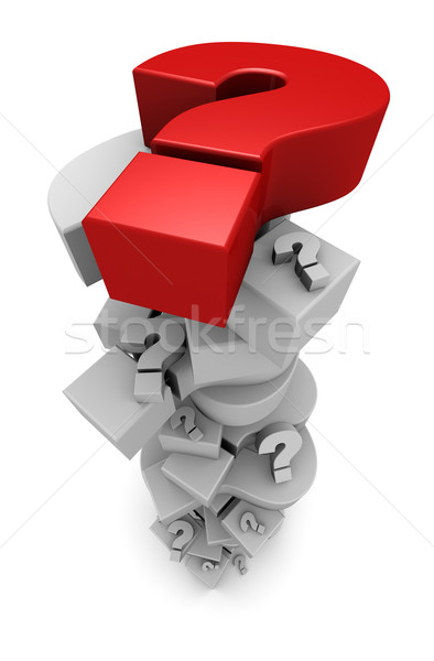 Question Marks Piling Up Stock photo © eyeidea