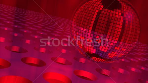 Grande discoball ilustração 3d Foto stock © eyeidea