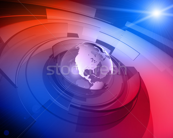 Mundo globo 3D projeto alto Foto stock © eyeidea