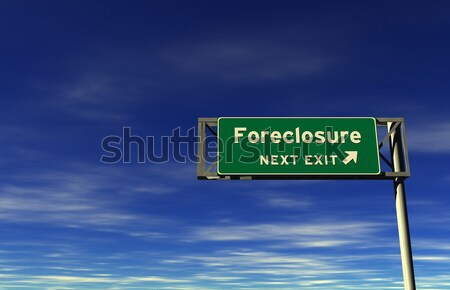 Vooruitgang snelweg teken super hoog Stockfoto © eyeidea