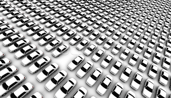 Lots of Cars, One Missing Stock photo © eyeidea