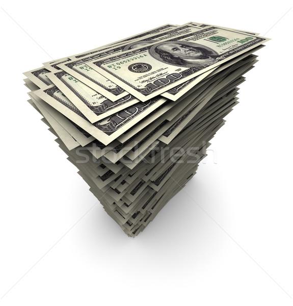 Une cent mille dollars Photo stock © eyeidea