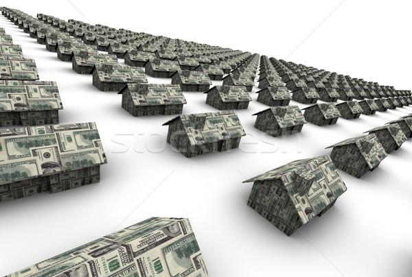 住宅 お金 高い 3D レイトレース ストックフォト © eyeidea