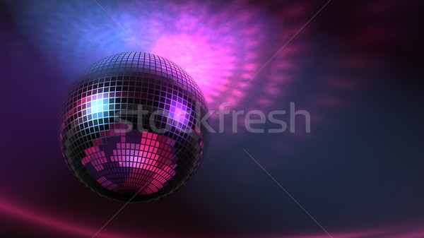 Big Disco Ball Stock photo © eyeidea