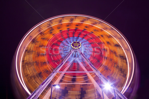 Ferris Wheel at Carnival Midway Stock photo © eyeidea
