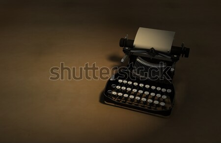 Antique Typewriter Stock photo © eyeidea