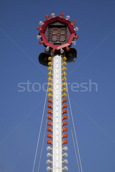 Carnaval martelo jogo scoreboard Foto stock © eyeidea