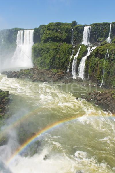 garganta del diablo at the iguazu falls Stock photo © faabi