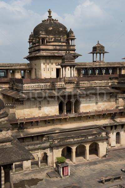 Fontos palota épület ázsiai indiai ősi Stock fotó © faabi