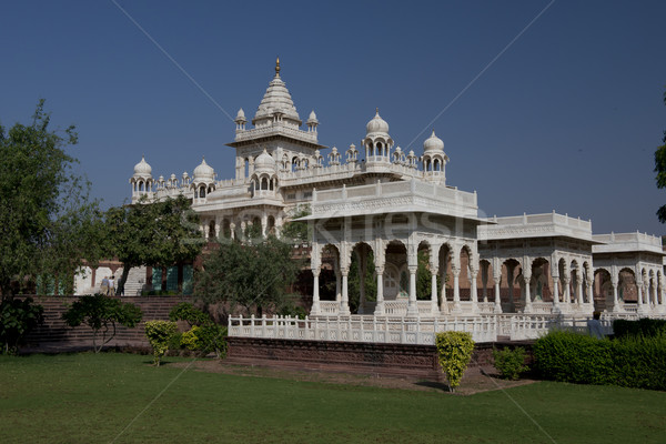 Jaswant Thada, Mausoleum in Jodhpur Stock photo © faabi