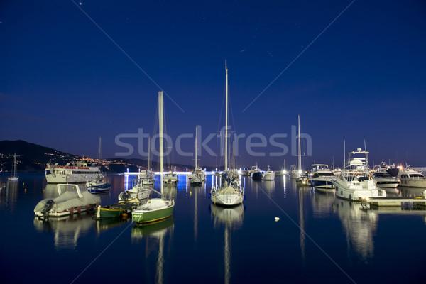 The harbour of Santa Margherita Stock photo © faabi