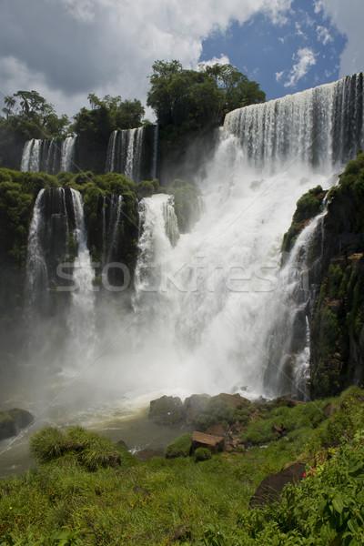 Spectaculaire une sept naturelles monde Argentine Photo stock © faabi