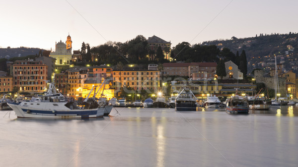 The harbour of Santa Margherita Stock photo © faabi