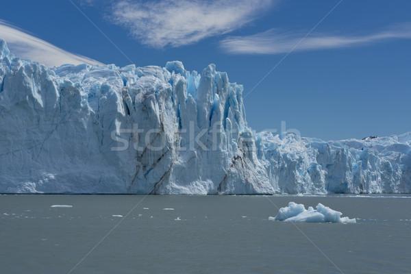 Glacier vue une parc lac Photo stock © faabi