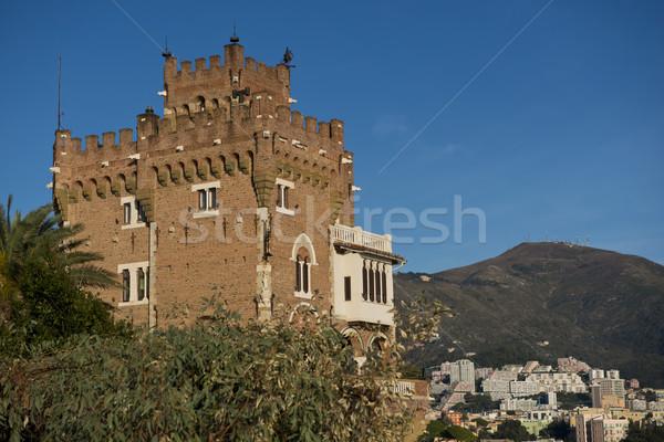 House near Boccadasse, Genoa. Stock photo © faabi
