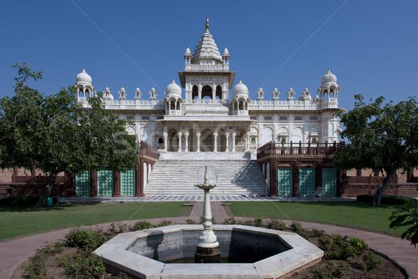 Jaswant Thada, Mausoleum in Jodhpur Stock photo © faabi