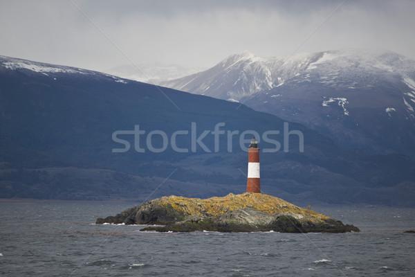 灯台 ビーグル チャンネル 自然 風景 海 ストックフォト © faabi