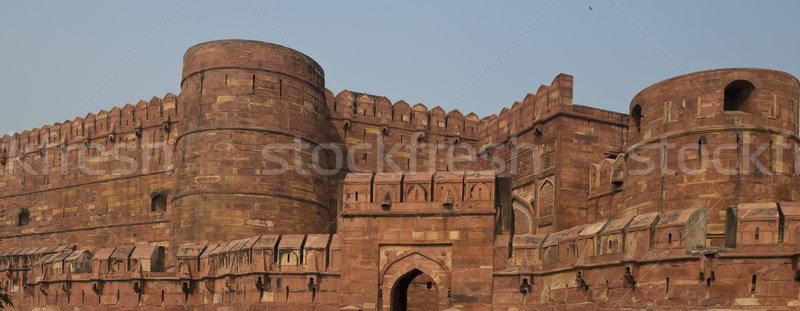 Agra Fort  Stock photo © faabi