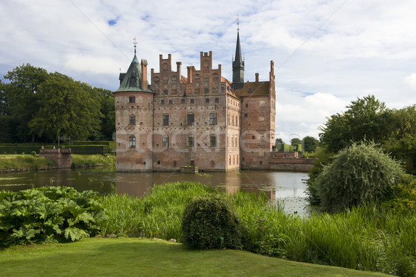Egeskov Slot in Denmark Stock photo © faabi