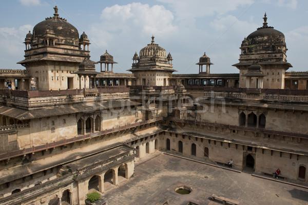 önemli saray Bina Asya Hint eski Stok fotoğraf © faabi