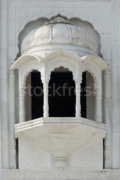 Sikh tempio Delhi importante costruzione architettura Foto d'archivio © faabi