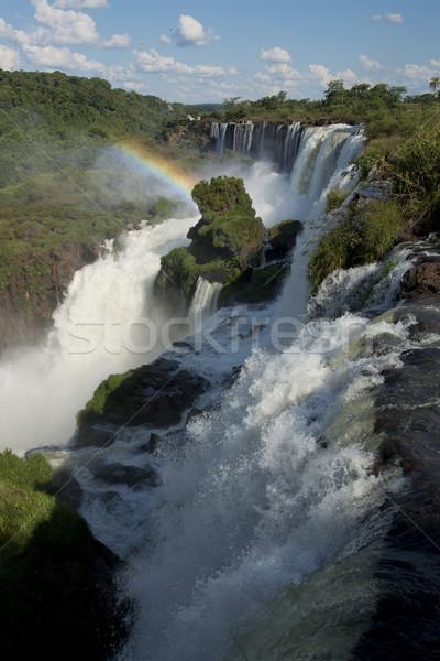 the Argentinian Side of the Iguazu Falls Stock photo © faabi