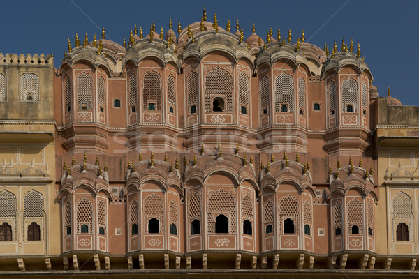 Hawa Maha (Palace of Winds) in Jaipur Stock photo © faabi