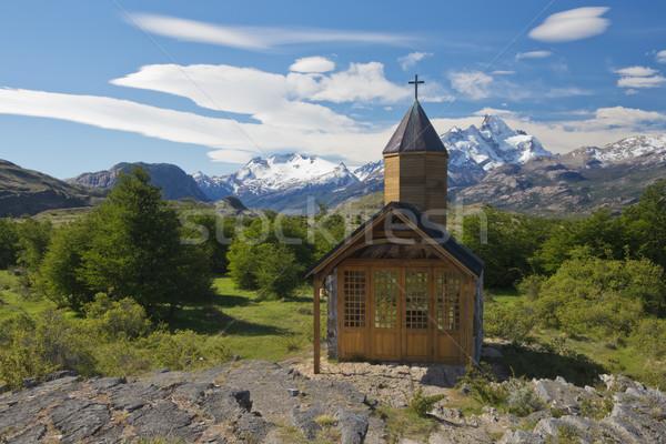 Церкви парка озеро ледник Аргентина Мир Сток-фото © faabi