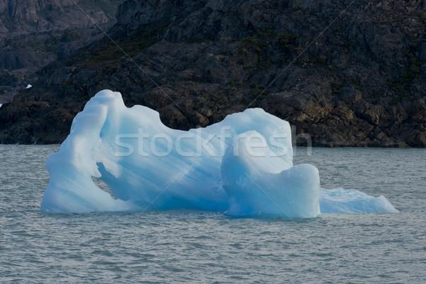 Iceberg floating on the Lake Argentino Stock photo © faabi