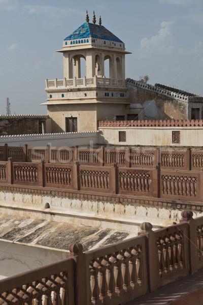 Fort vecchio palazzo rosso arenaria costruzione Foto d'archivio © faabi