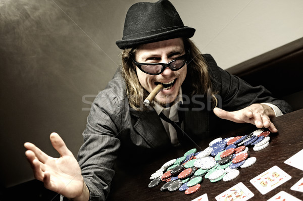 Poker winner Stock photo © fahrner