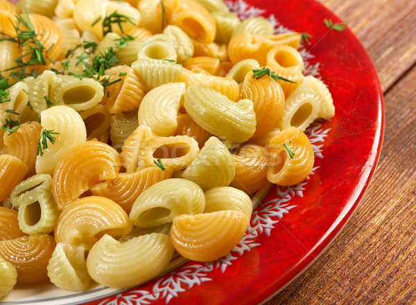 Colorful Italian conchiglie  pasta  Stock photo © fanfo