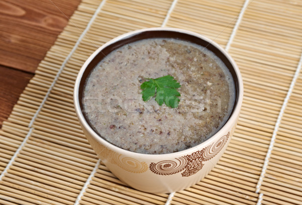 Mushroom cream soup Stock photo © fanfo