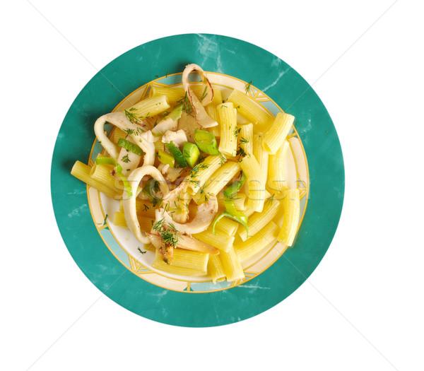 Seafood with Rigatoni Pasta Stock photo © fanfo