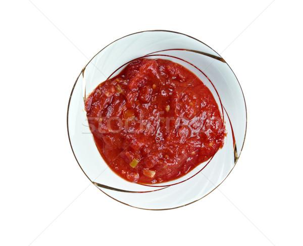 georgian sauce adjika Stock photo © fanfo