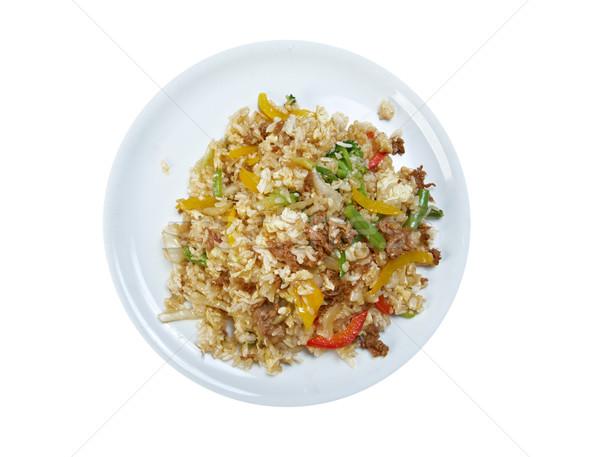 oriental fried rice tyahan - Stock photo © fanfo