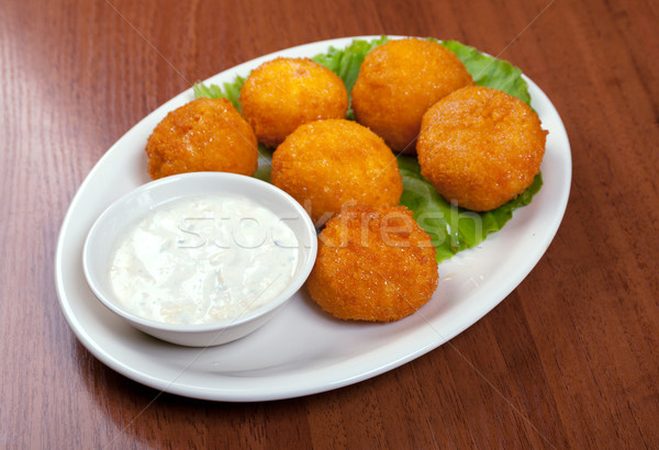 Cheese Croquettes Plate  Stock photo © fanfo
