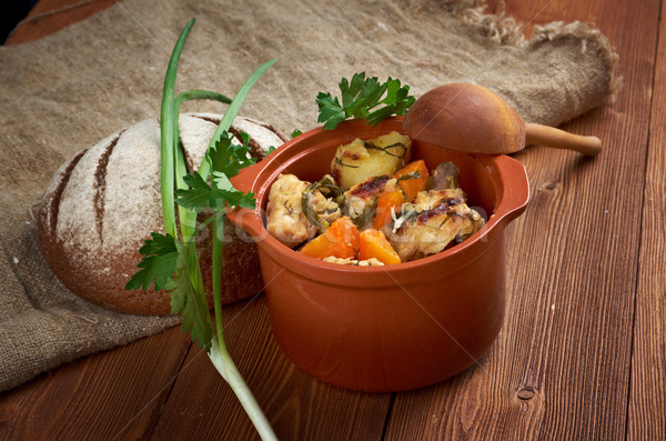 Packer Country stew Stock photo © fanfo