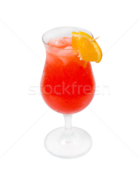 Alcoholic red cocktails Stock photo © fanfo