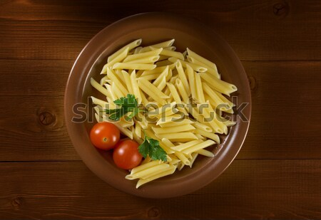 delicious macaroni pasta Stock photo © fanfo