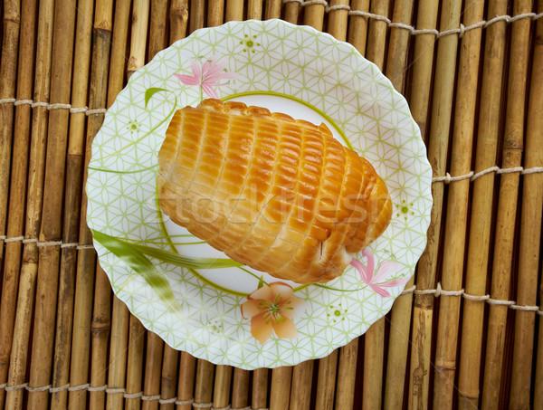 Affumicato calamari rotolare pesce salute ristorante Foto d'archivio © fanfo
