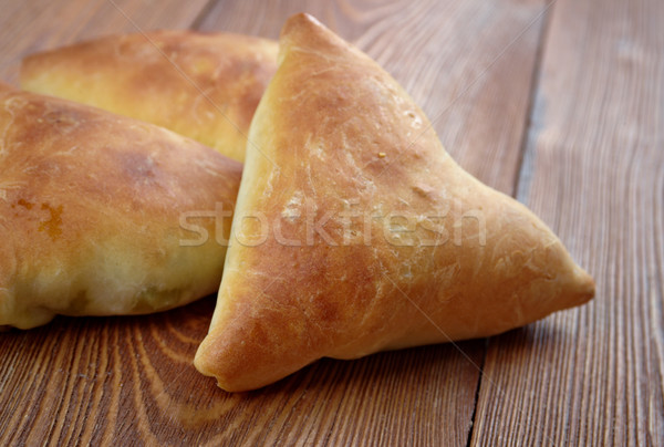 Samosa Stock photo © fanfo