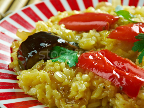 South Indian dish Stock photo © fanfo