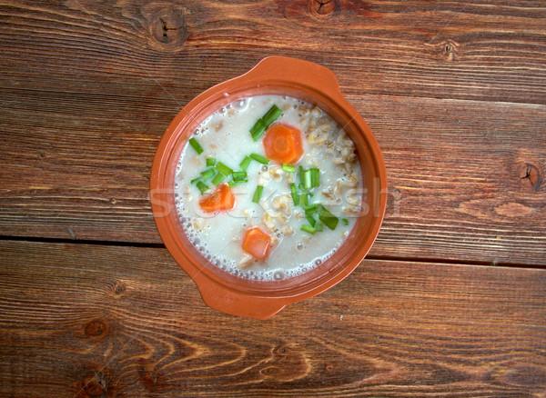 Graubunden Barley Soup Stock photo © fanfo