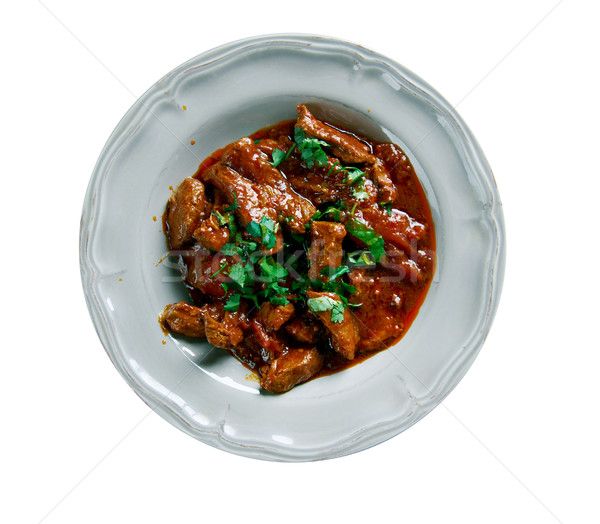Hungarian beef stew Stock photo © fanfo