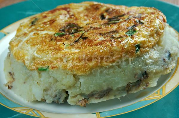 Spanish tortilla Stock photo © fanfo
