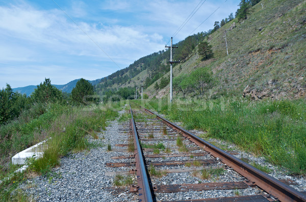 Circum-Baikal railroad  Stock photo © fanfo
