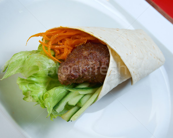 Breakfast burritos  Stock photo © fanfo
